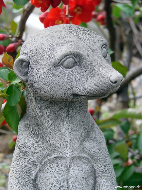 Erdm nnchen harry gartenfigur aus steinguss erdm nnchen for Steinfiguren garten tiere