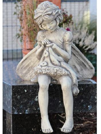 Flower Fairy Rainfarn aus Steinguss