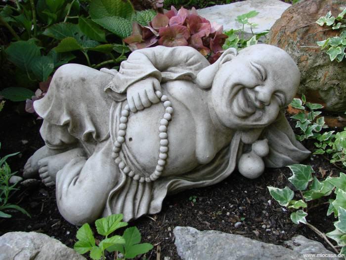 reclining buddha liegend steinguss. Black Bedroom Furniture Sets. Home Design Ideas